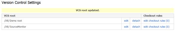 Version Control settings for Metrics